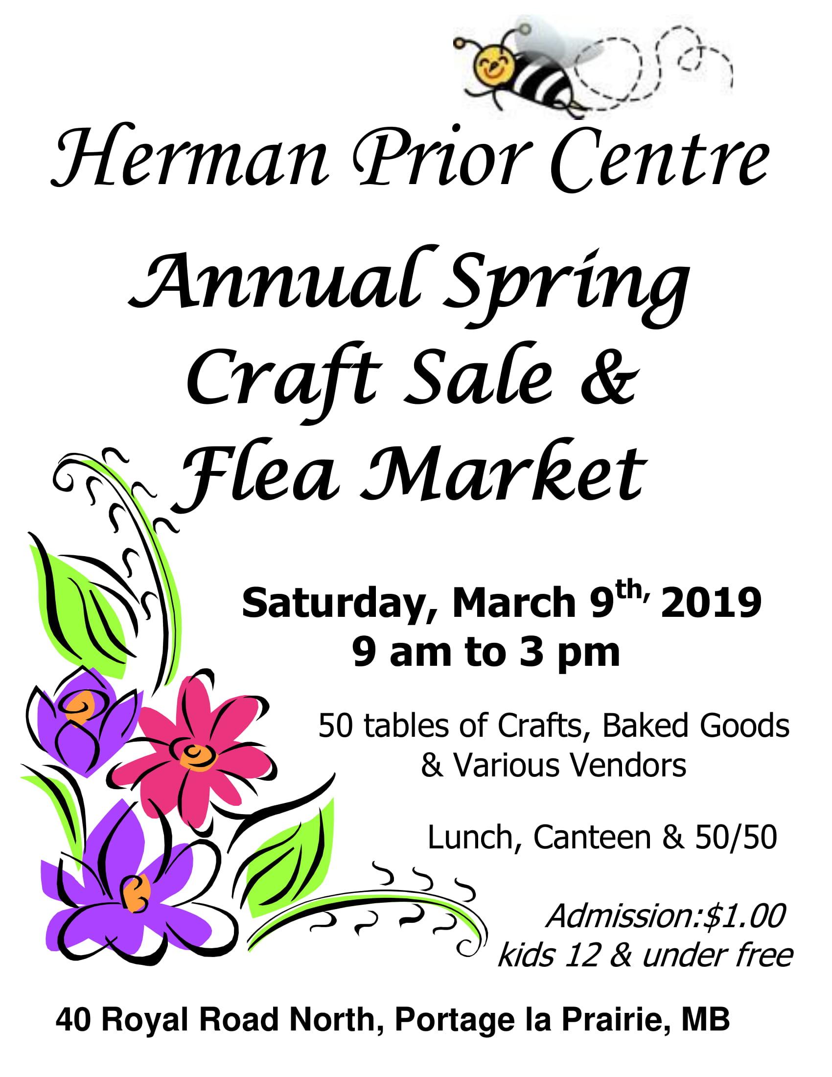 Spring Flea Market Poster 2019