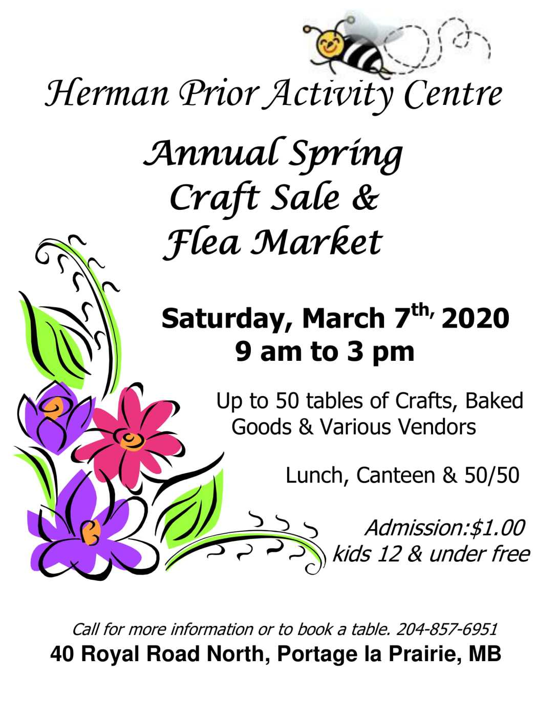 Spring Flea Market Poster 2020-1