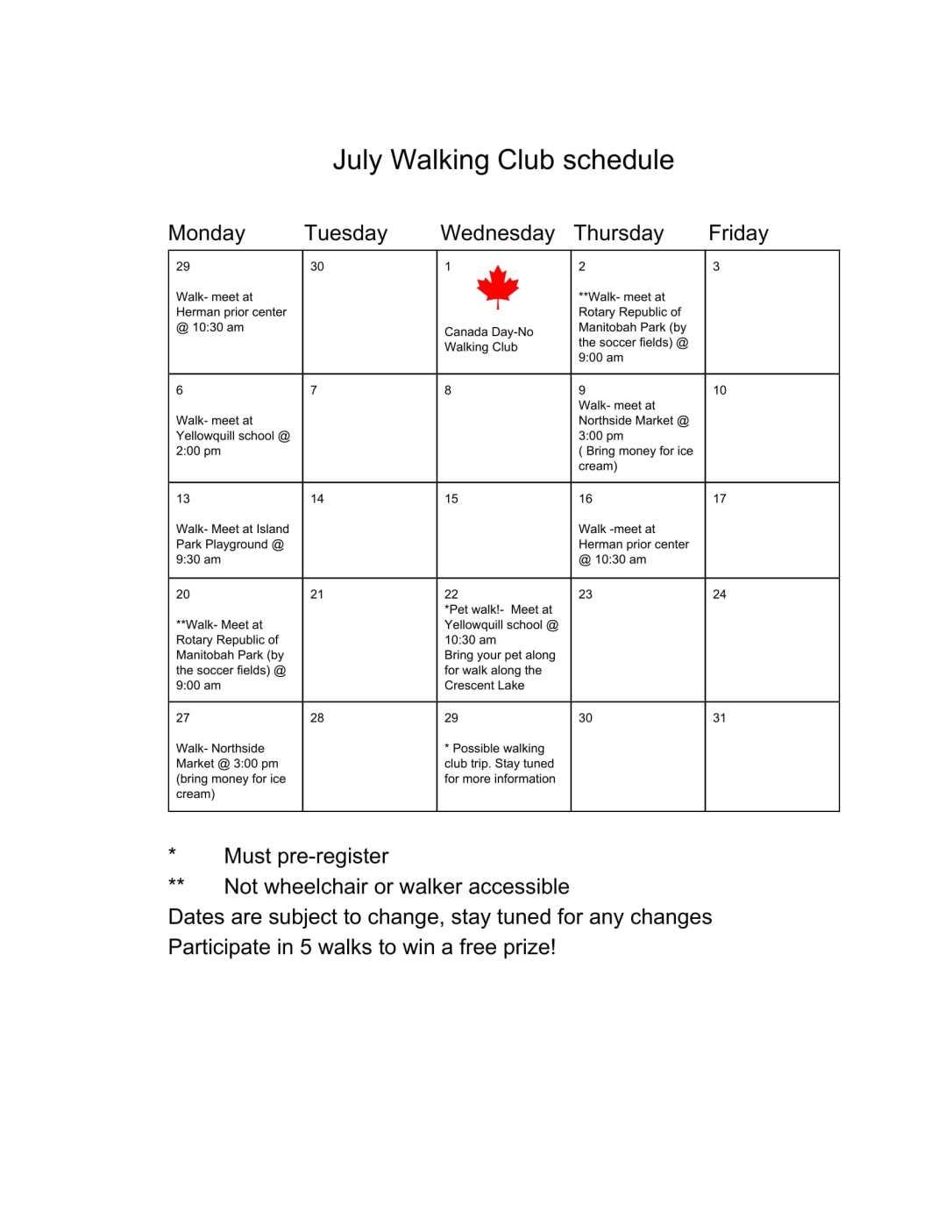 Walking Club- Guidelines-2
